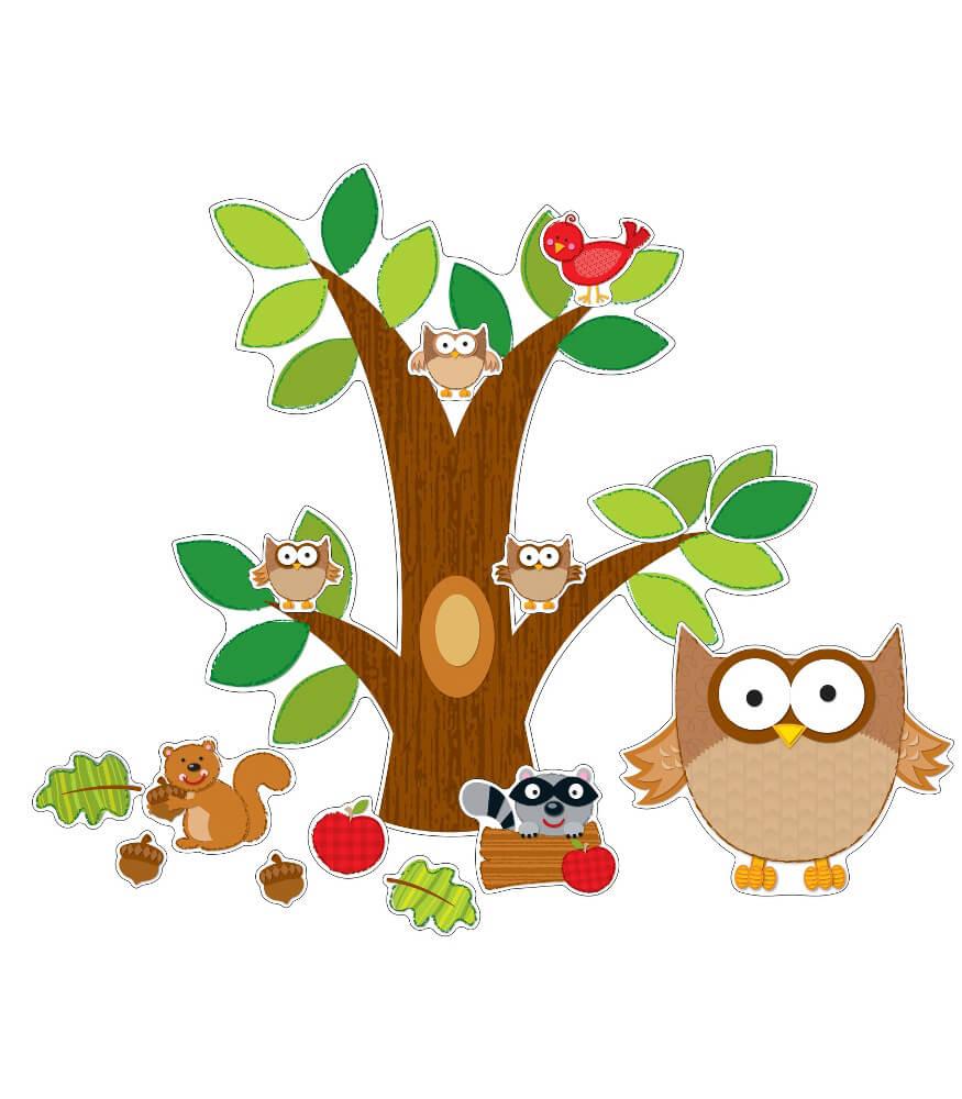 Owl Bulletin Board Set