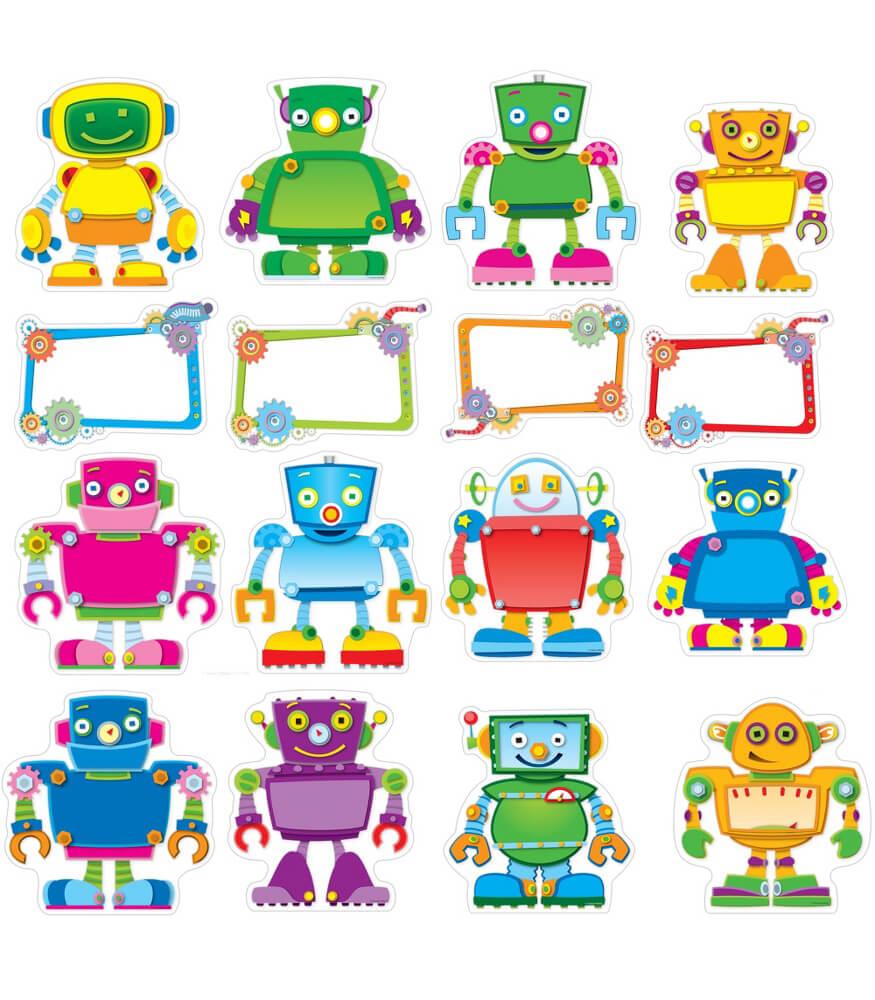 Robot Classroom Decoration Ideas : Robot talkers bulletin board set grade pk carson