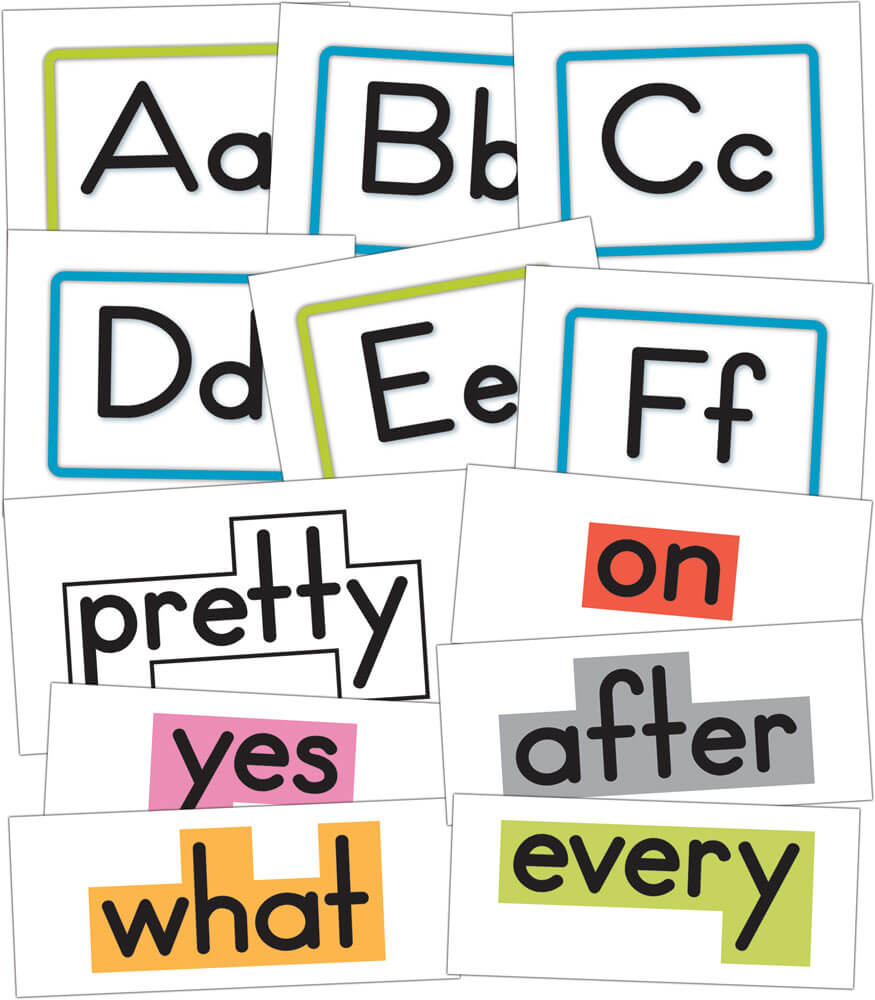 Word Wall Bulletin Board Set Product Image