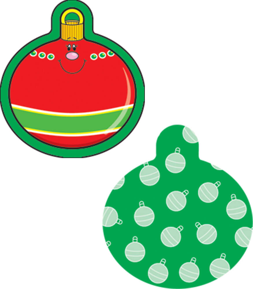 Christmas Ornaments Mini Cut-Outs Grade PK-8