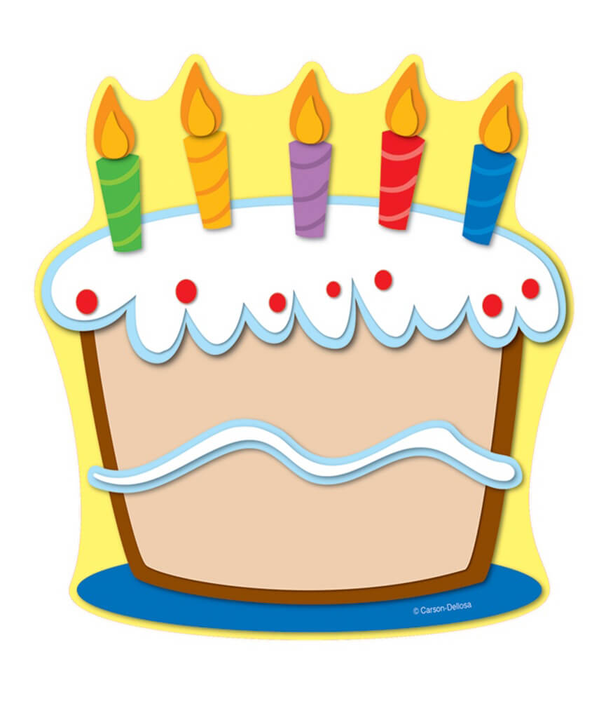 October Birthday Cake Clipart Image Of Birthday Clipart ...