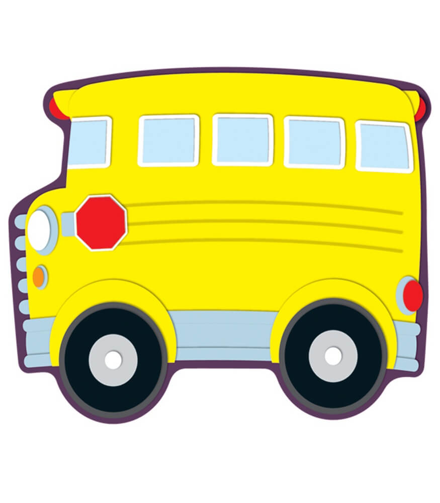 120097 School Bus Cut Outs 120097 on Science Grade 5 New