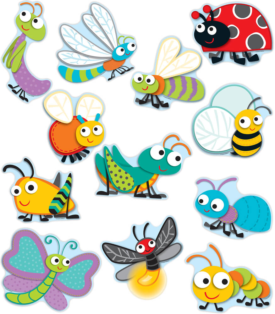 Buggy For Bugs Cut Outs Grade PK 8 Carson Dellosa Publishing