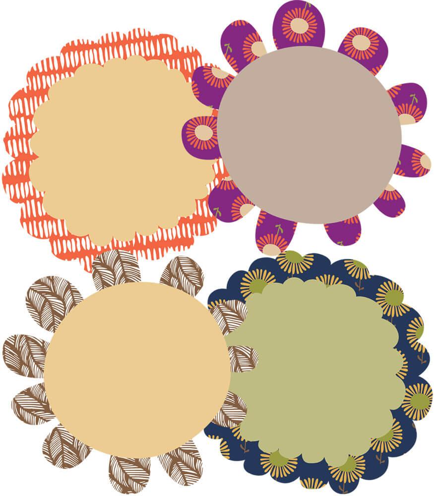 You-Nique Flowers Mini Cut-Outs Product Image