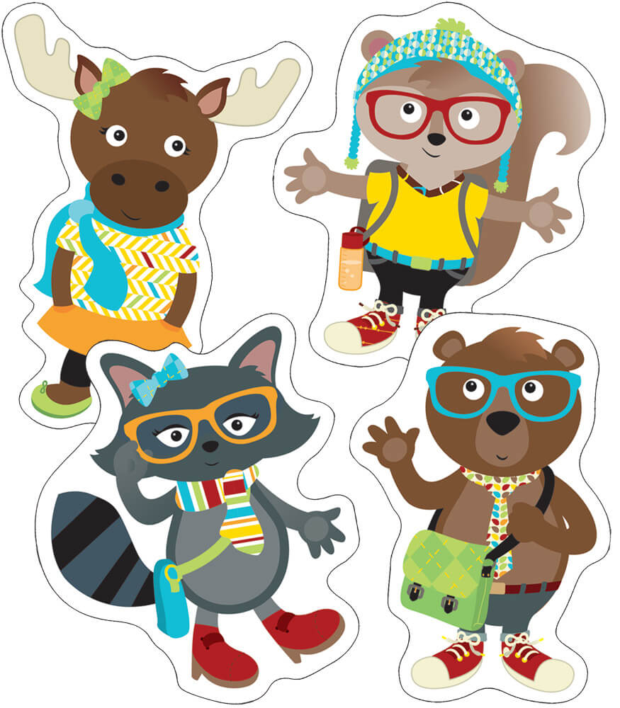 Hipster Pals Cut-Outs Product Image