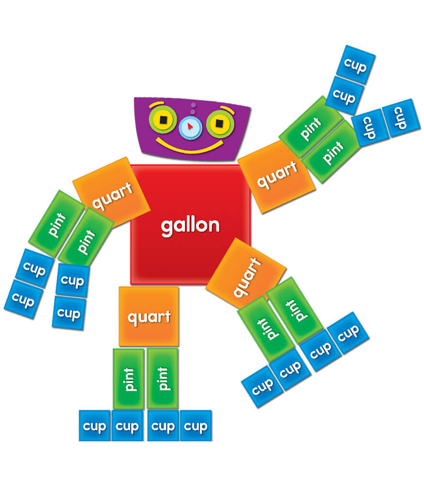 Gallon Man Curriculum Cut-Outs Grade 1-4 | Carson-Dellosa Publishing