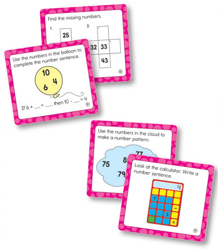 Worksheet Grade 1 Curriculum Math math challenge grade 1 carson dellosa publishing curriculum cut outs