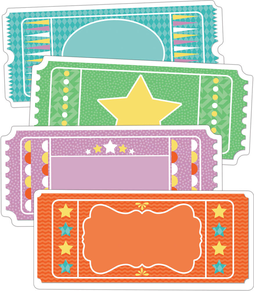 Tickets Cut-Outs Product Image