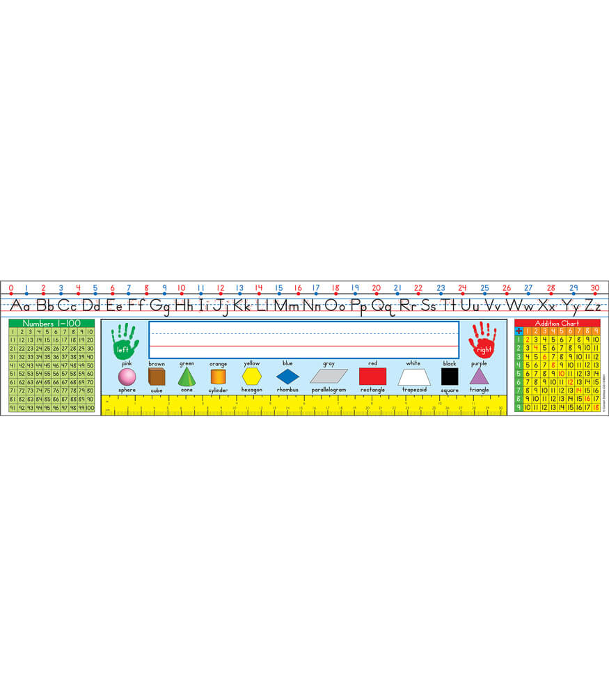 Traditional Manuscript: Grades 1-3 Nameplates Product Image