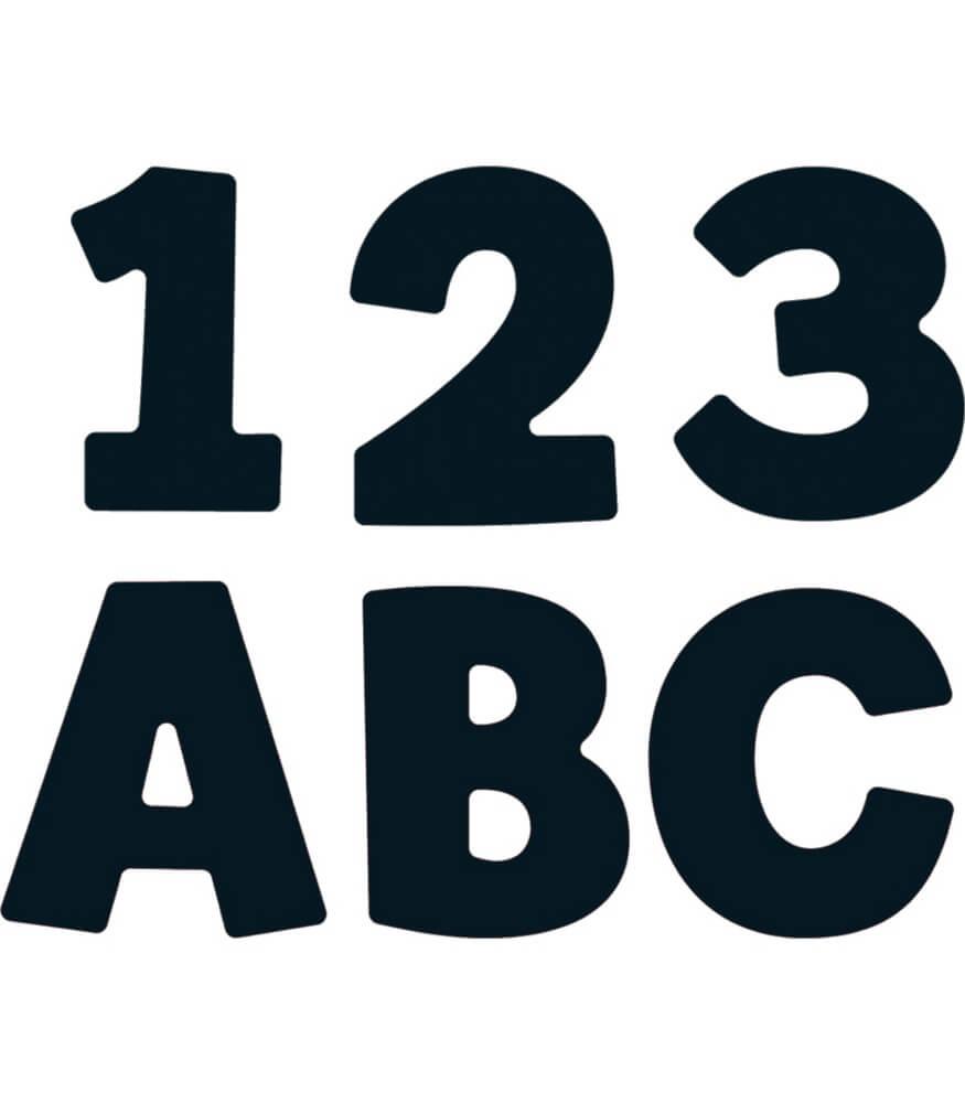 Black EZ Letters