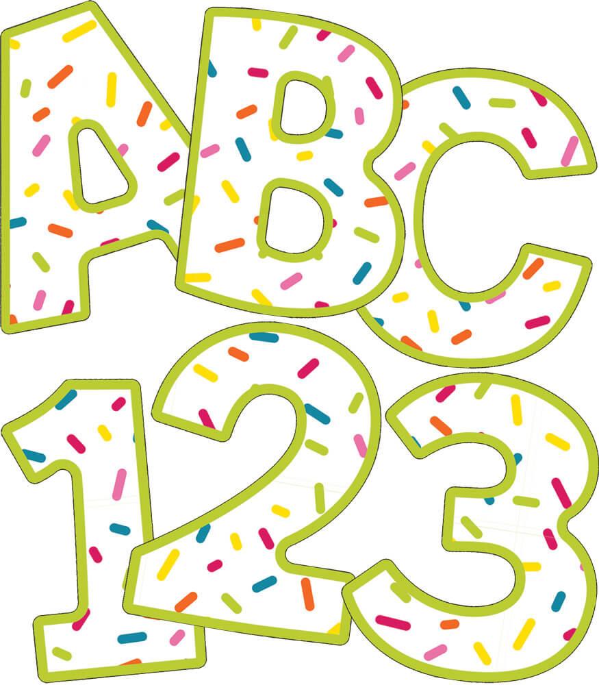 School Pop EZ Letters