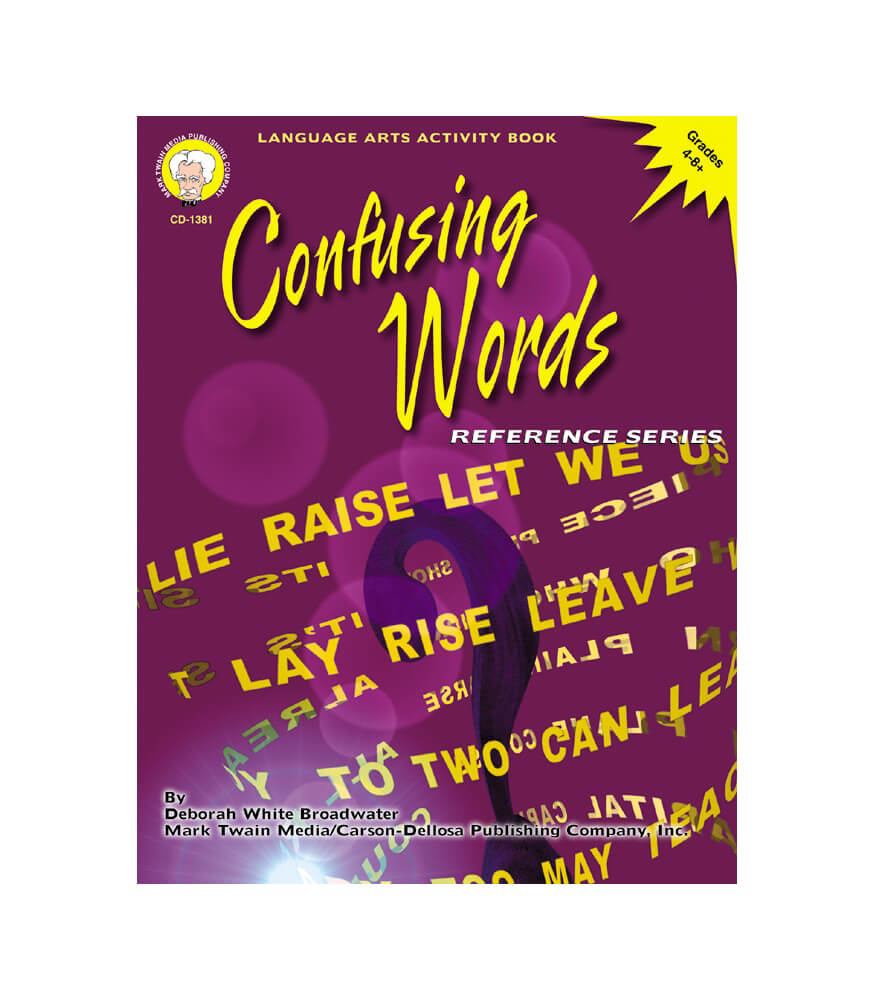 Confusing Words Resource Book Product Image