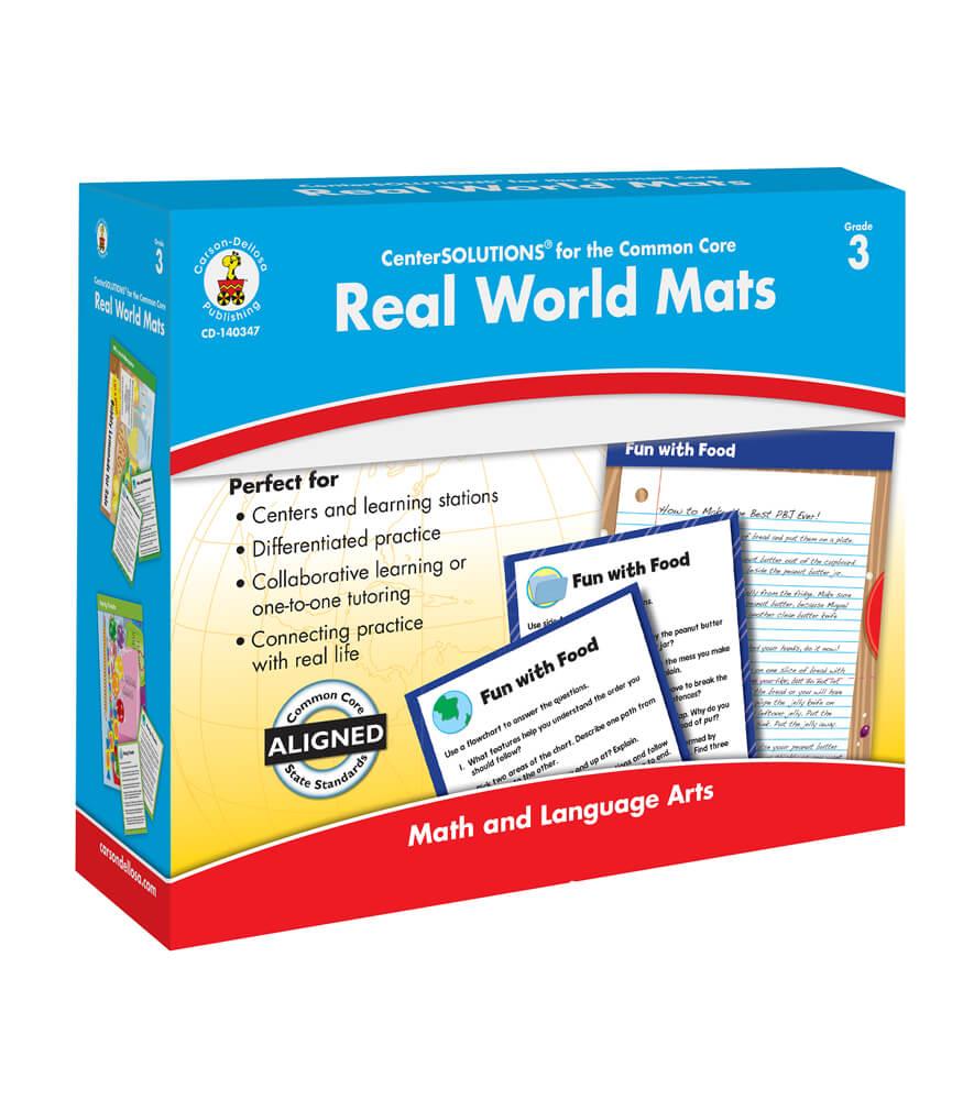 Real World Mats File Folder Game Product Image
