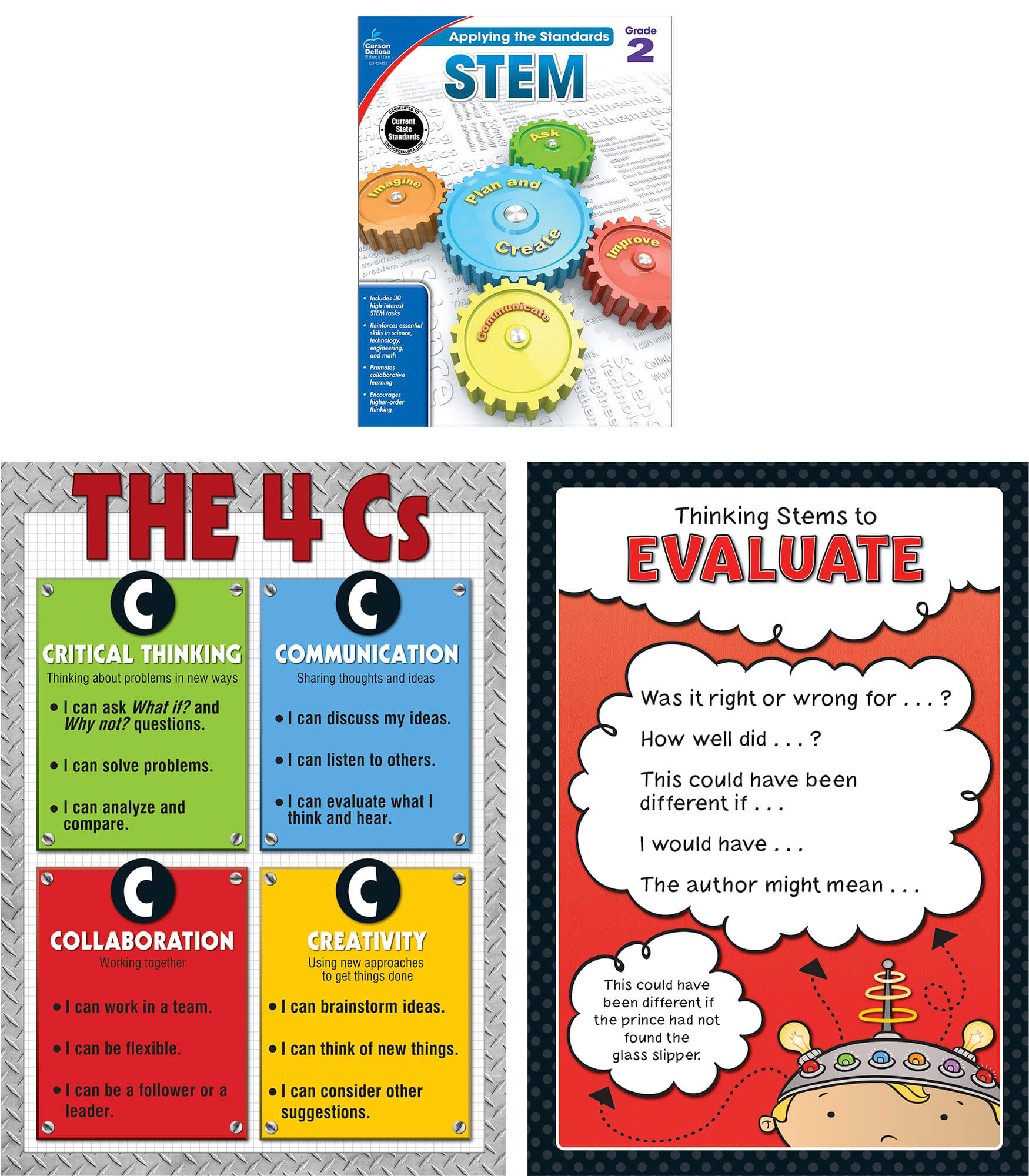 Worksheet 2 Grade stem essentials grade 2 carson dellosa publishing classroom set