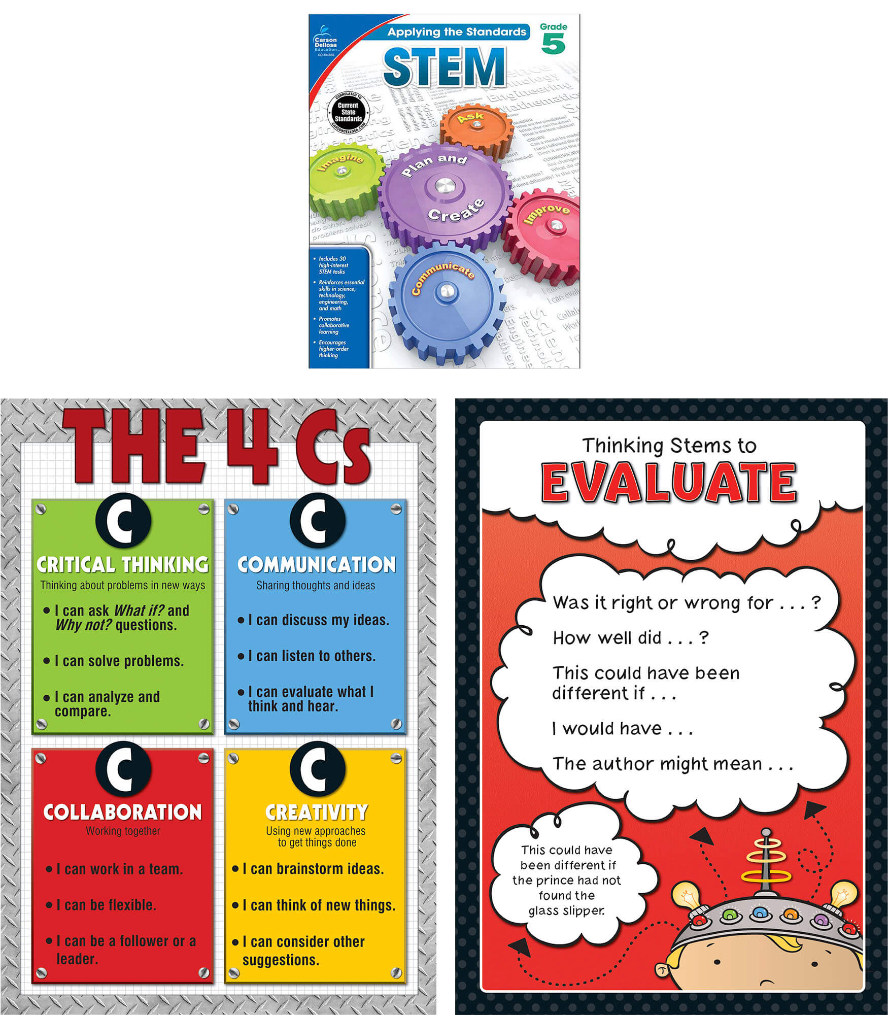 Worksheet 5 Grade stem essentials grade 5 carson dellosa publishing classroom set