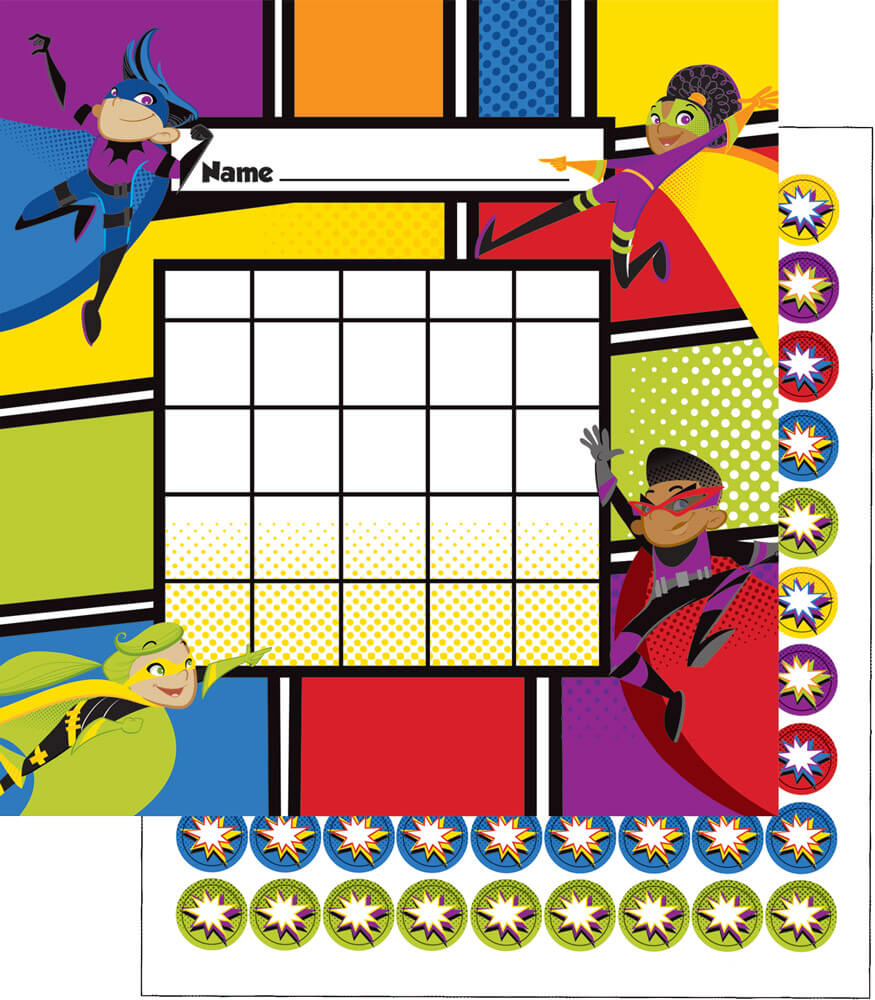 Super Power Mini Incentive Charts Product Image