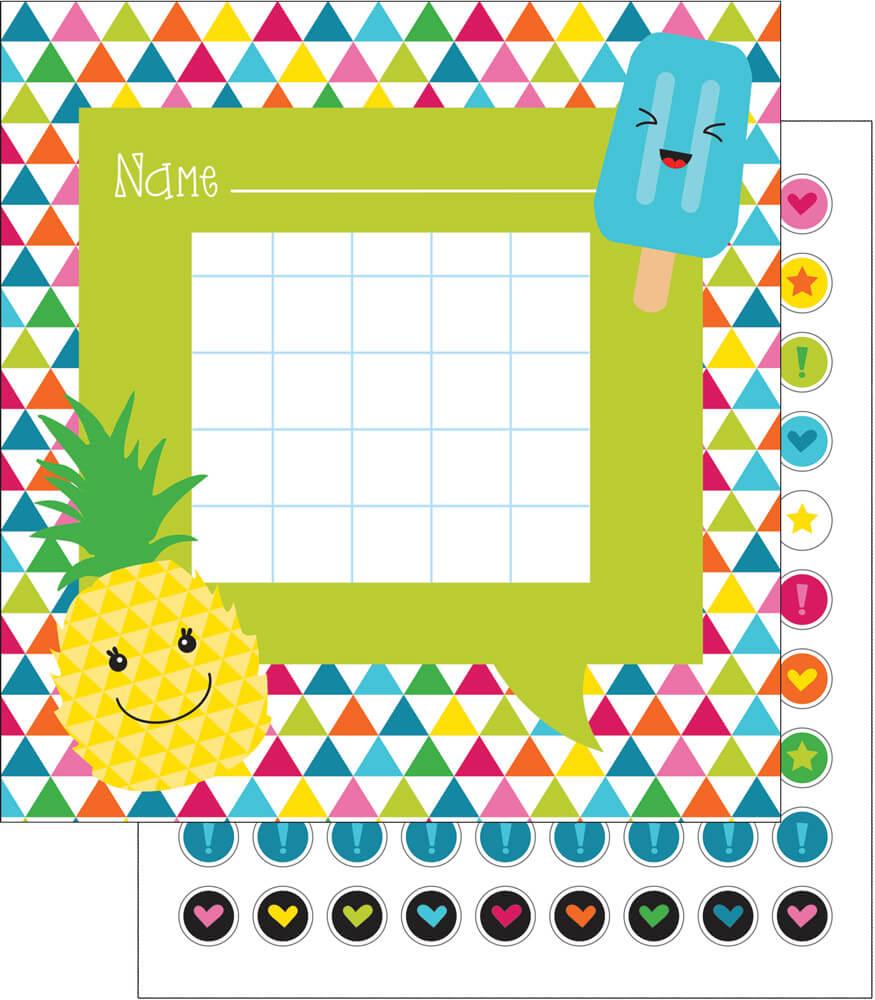 School Pop Mini Incentive Charts Product Image