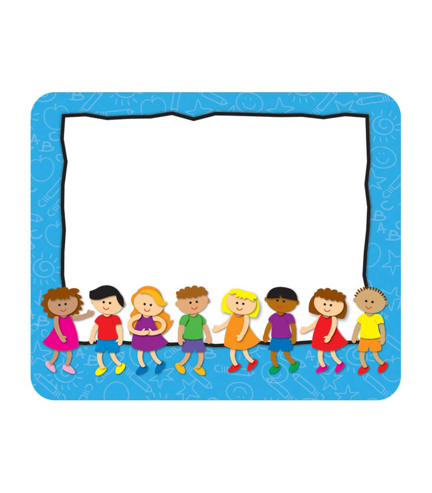 Kids name tags grade pk 5 carson dellosa publishing for Preschool name tag templates