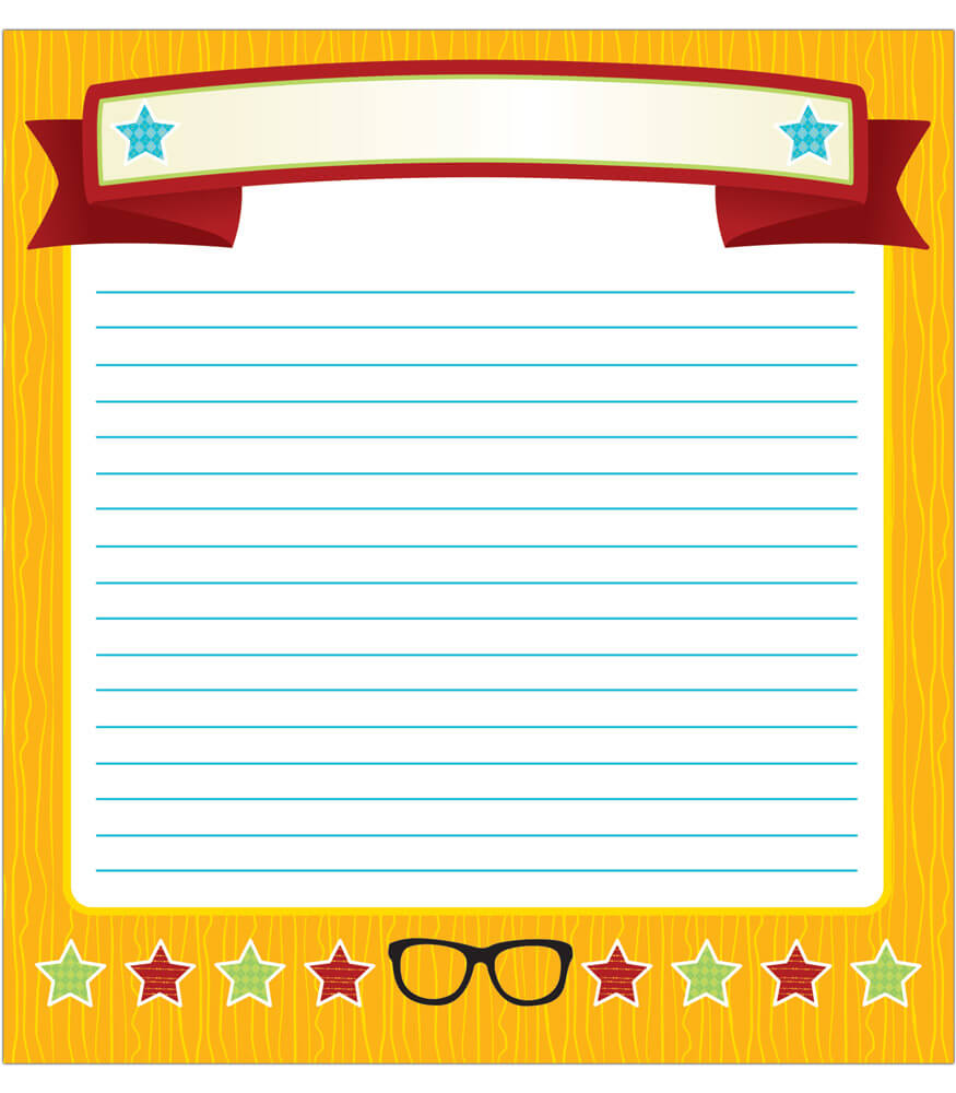 151086 Hipster Notepad 151086 on Bulletin Board Kids Monsters