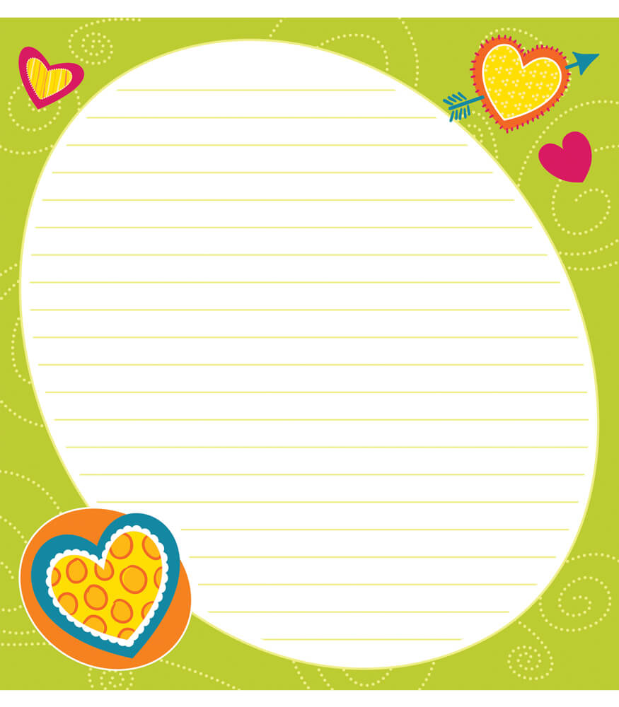 Bright Hearts Notepad Product Image