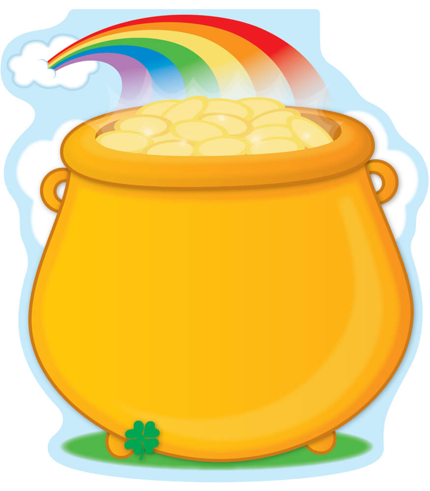 St. Patrick's Day Notepad Product Image