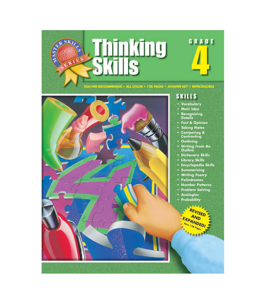 thinking skills workbook grade carson dellosa publishing thinking skills workbook