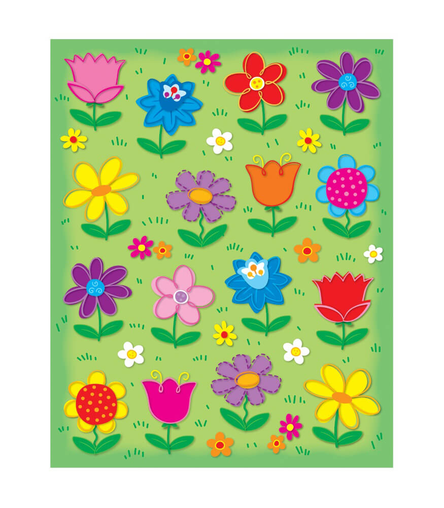 Flowers Shape Stickers Product Image