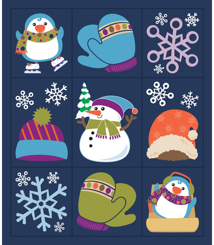 Winter Fun Prize Pack Stickers Product Image