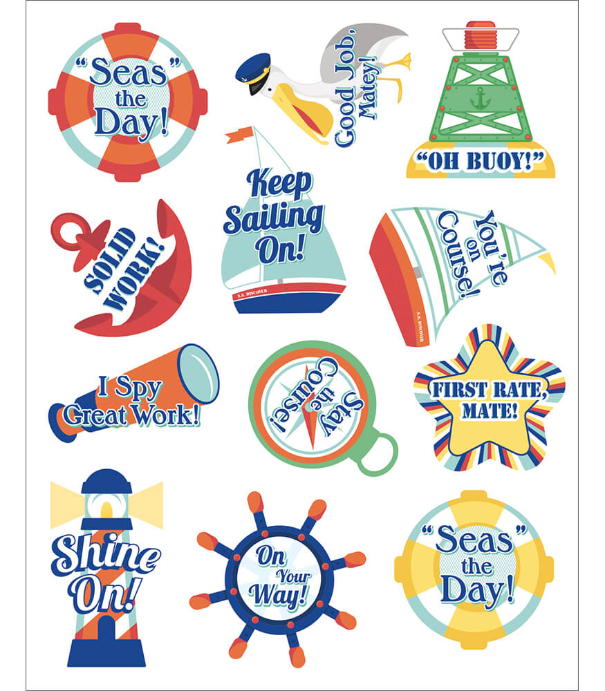 S.S. Discover Motivators Motivational Stickers Product Image