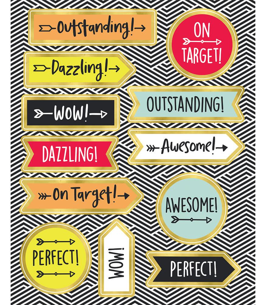 Aim High Motivators Motivational Stickers Product Image