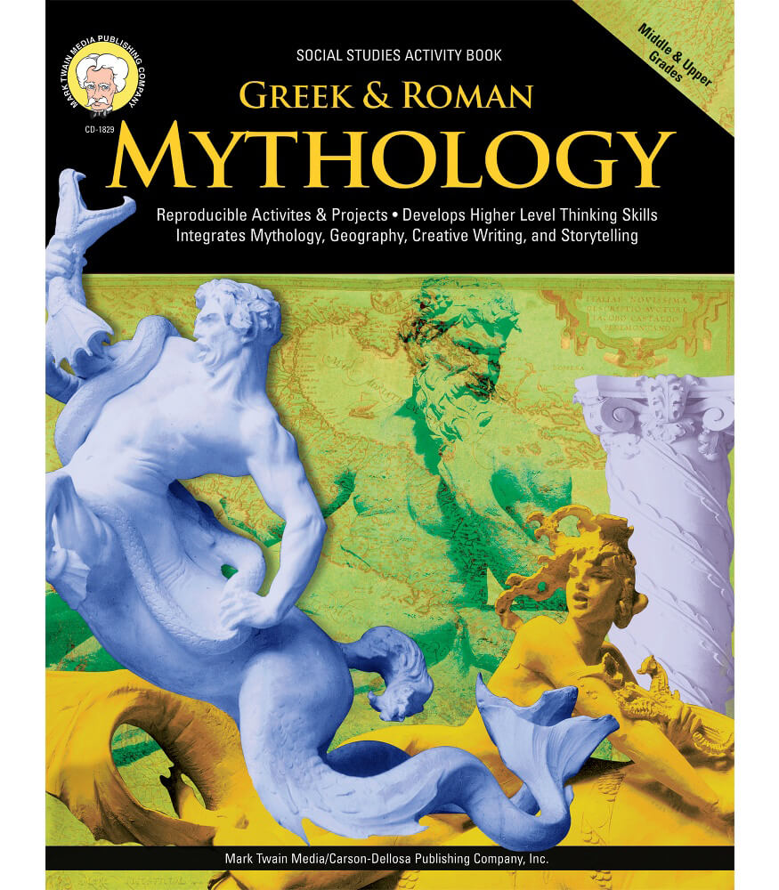 Greek & Roman Mythology Resource Book Product Image