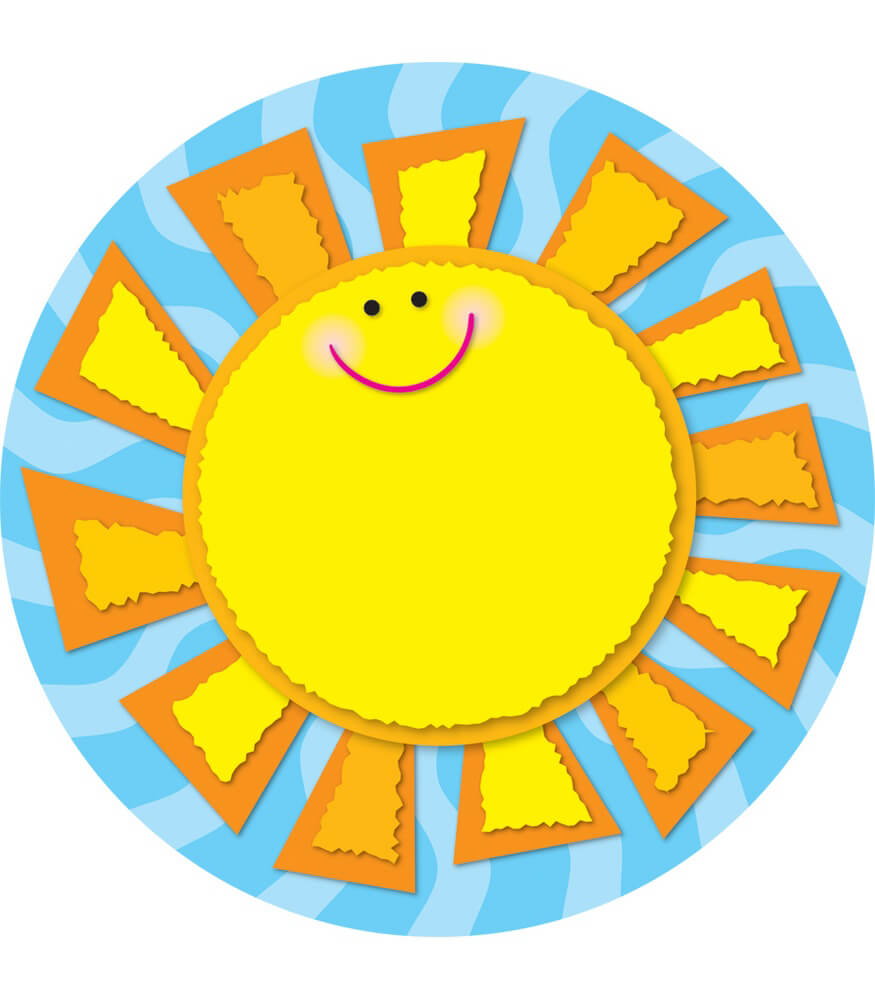 Sun Two-Sided Decoration Product Image