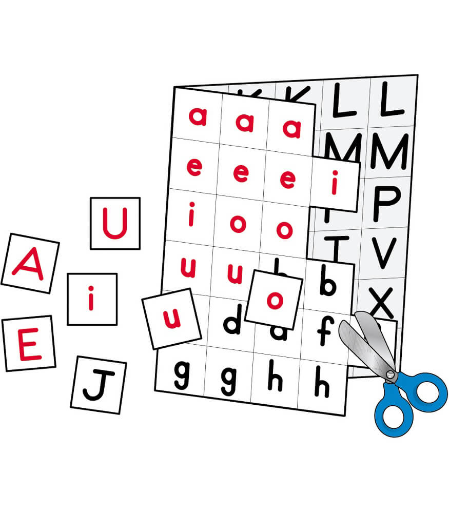 Individual Making Words Letters Manipulative Product Image