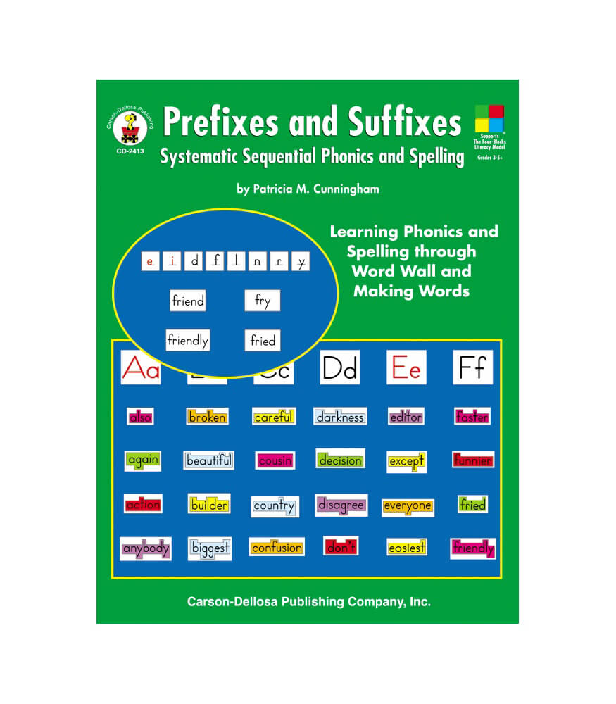Prefixes and Suffixes Resource Book