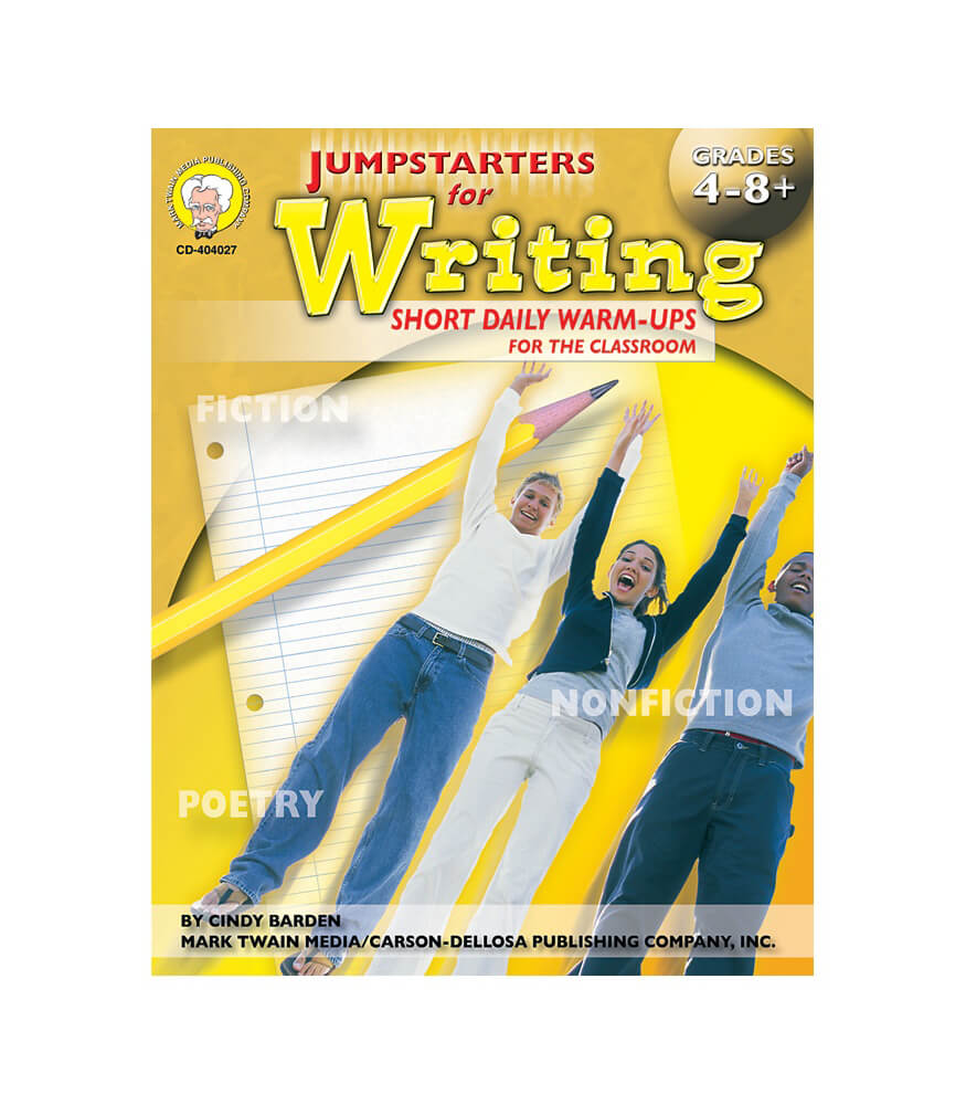 Jumpstarters for Writing Resource Book Product Image