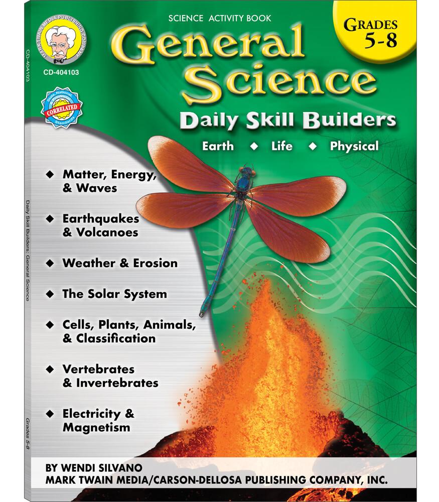 General Science Resource Book Grade 5-8 | Carson-Dellosa Publishing