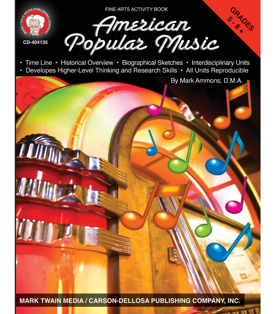 American Popular Music Resource Book Grade 5-8 | Carson ...