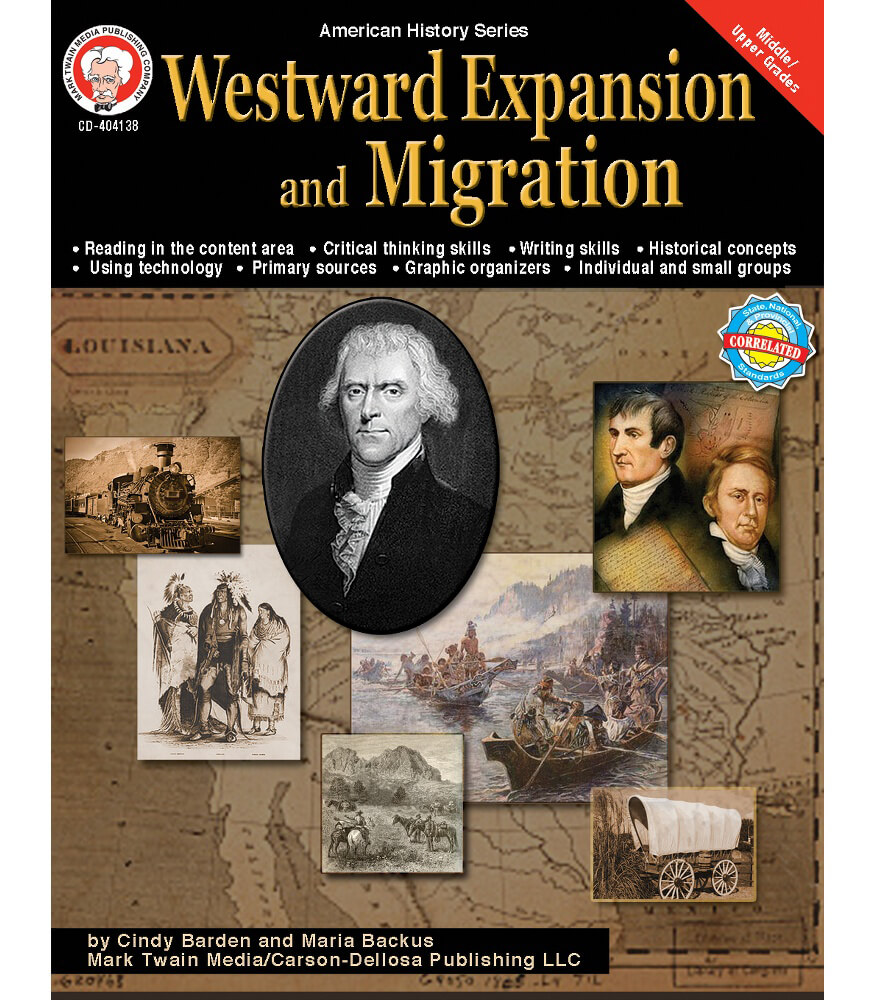 westward expansion and migration resource book grade 6