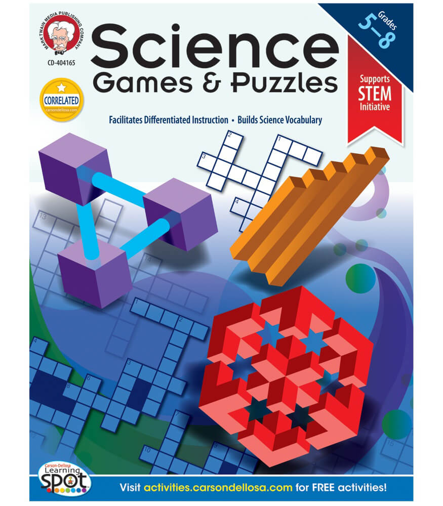 Science Games and Puzzles Resource Book