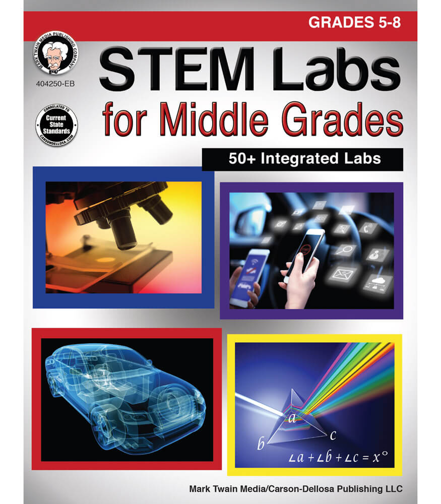 What Is Stem Lab In School: STEM Labs For Middle Grades Resource Book Grade 5-8