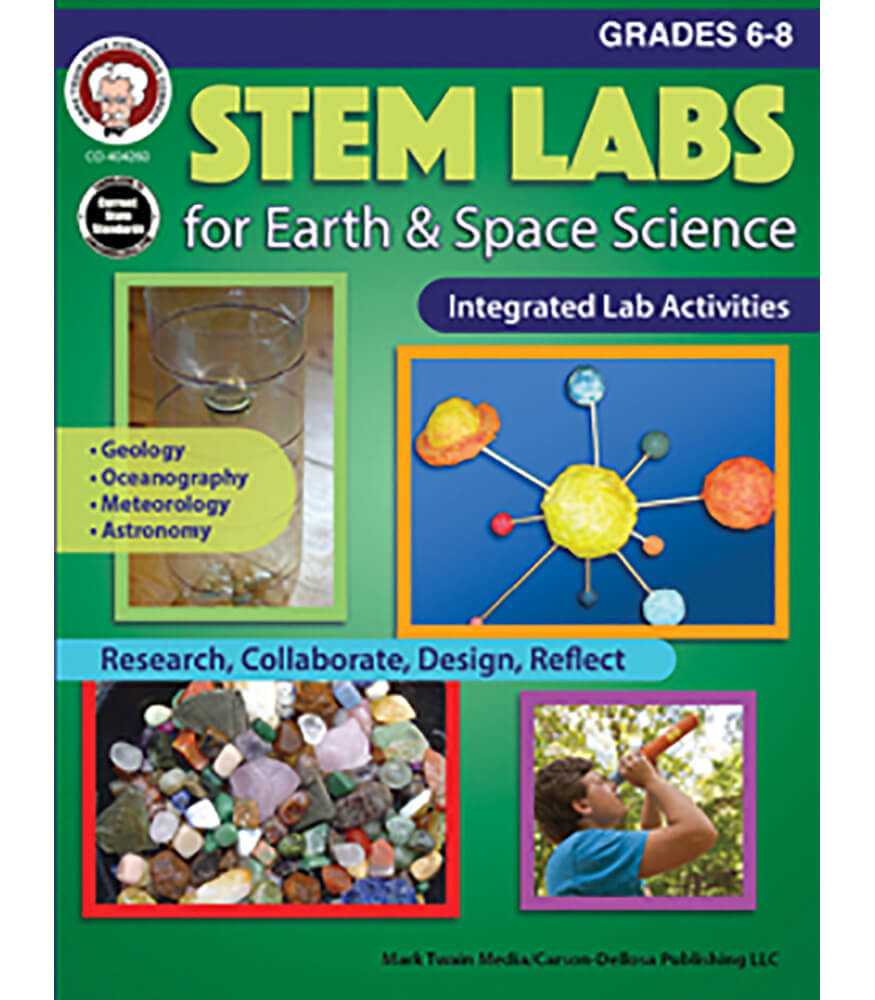STEM Labs For Earth & Space Science Resource Book Grade 6