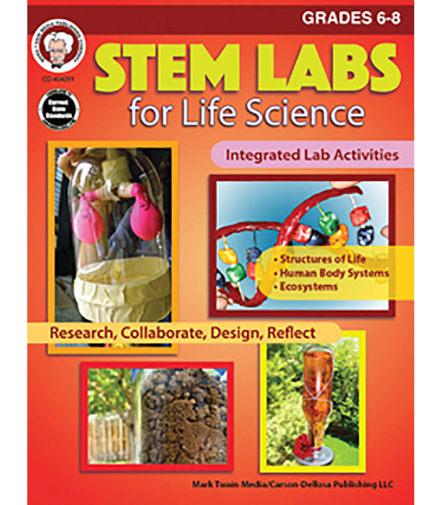 STEM Labs for Life Science Resource Book Grade 6-8 | Carson ...