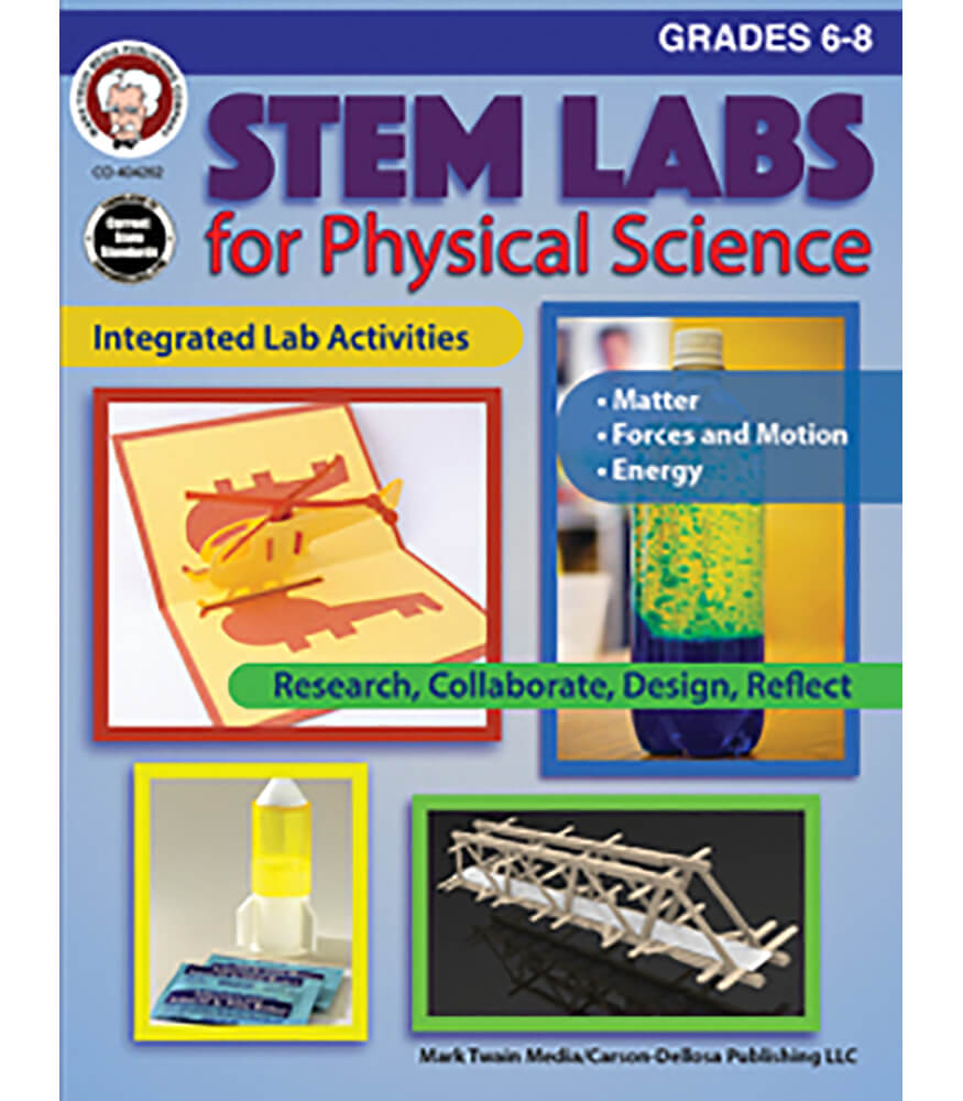 STEM Labs for Physical Science Resource Book Grade 6-8 | Carson ...