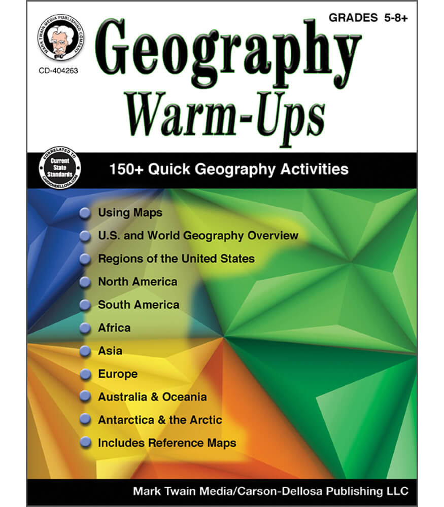 Geography Warm-Ups Resource Book Product Image