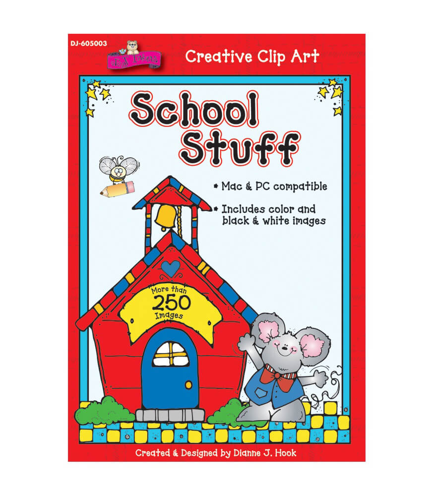 School Stuff Clip Art