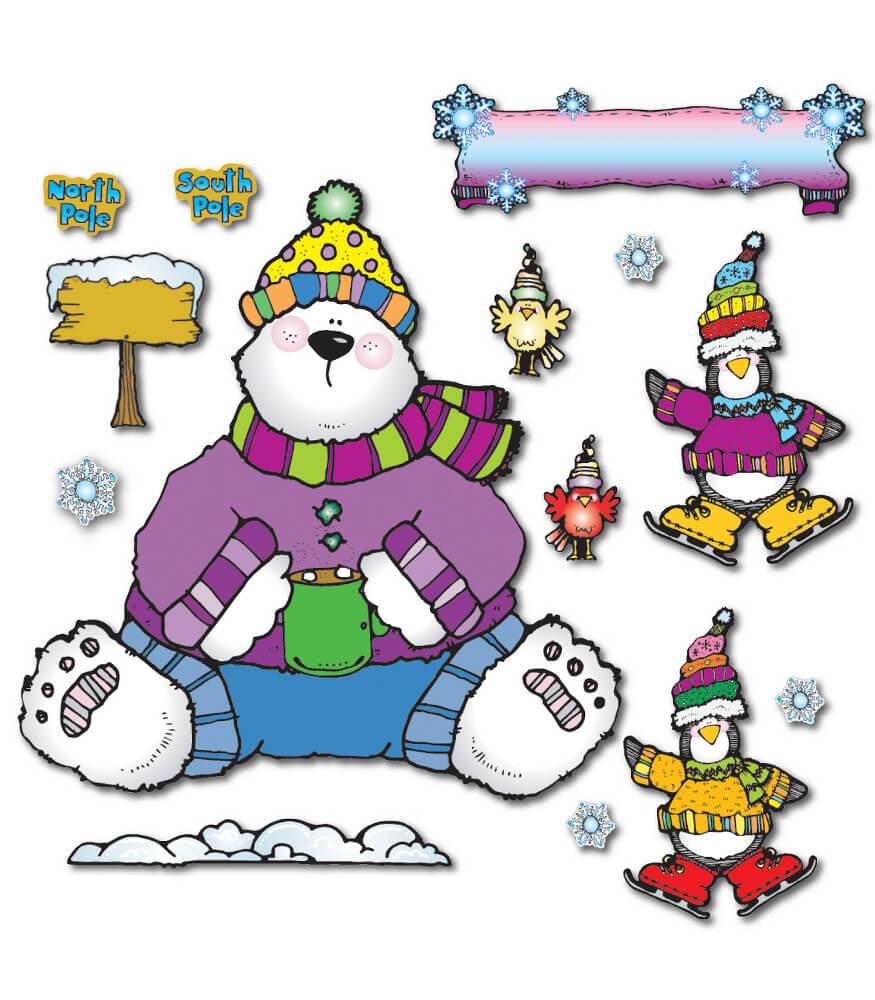 Polar Pals Bulletin Board Set Product Image