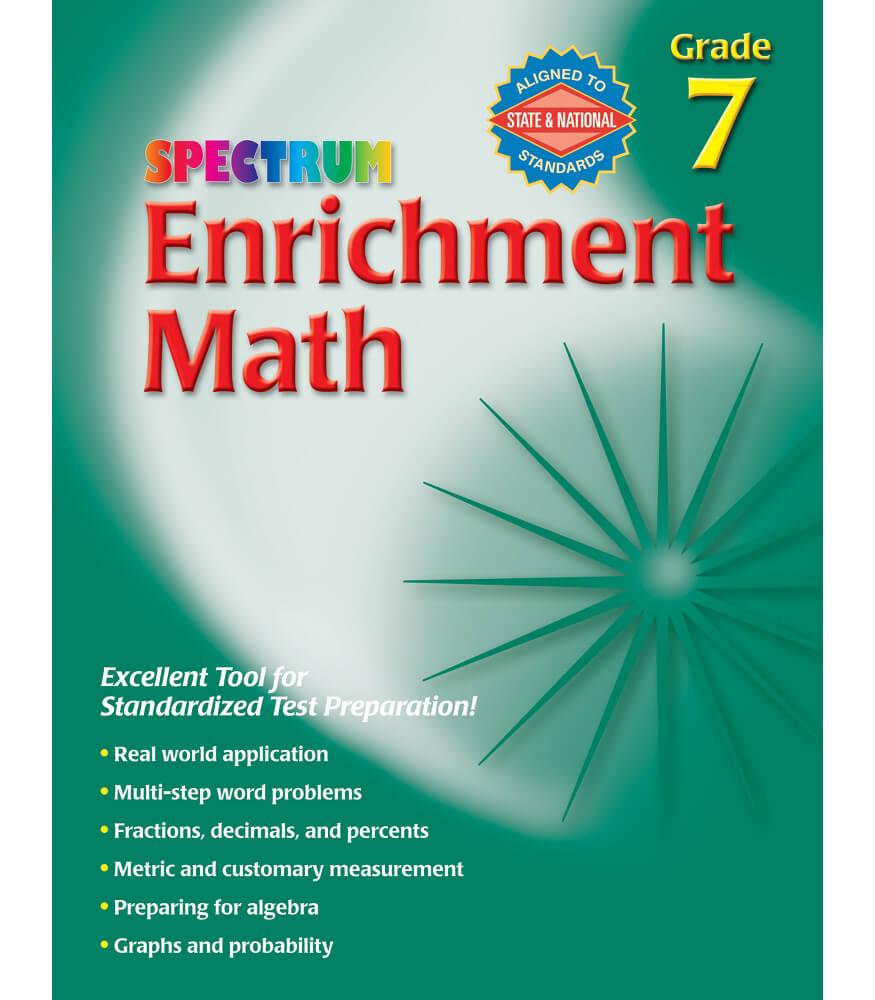 Enrichment Math Workbook Product Image