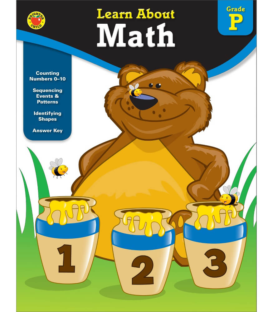math worksheet : math workbook grade pk  carson dellosa publishing : Math Workbook