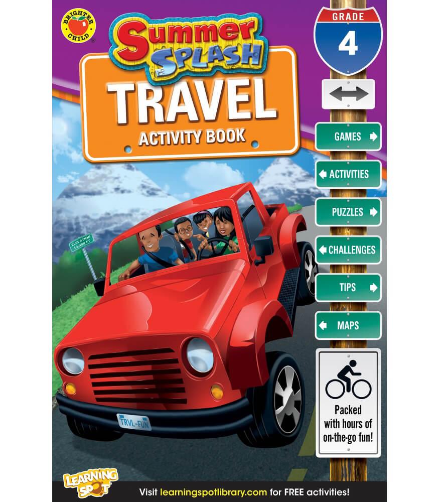 Summer Splash Travel Activity Book Product Image