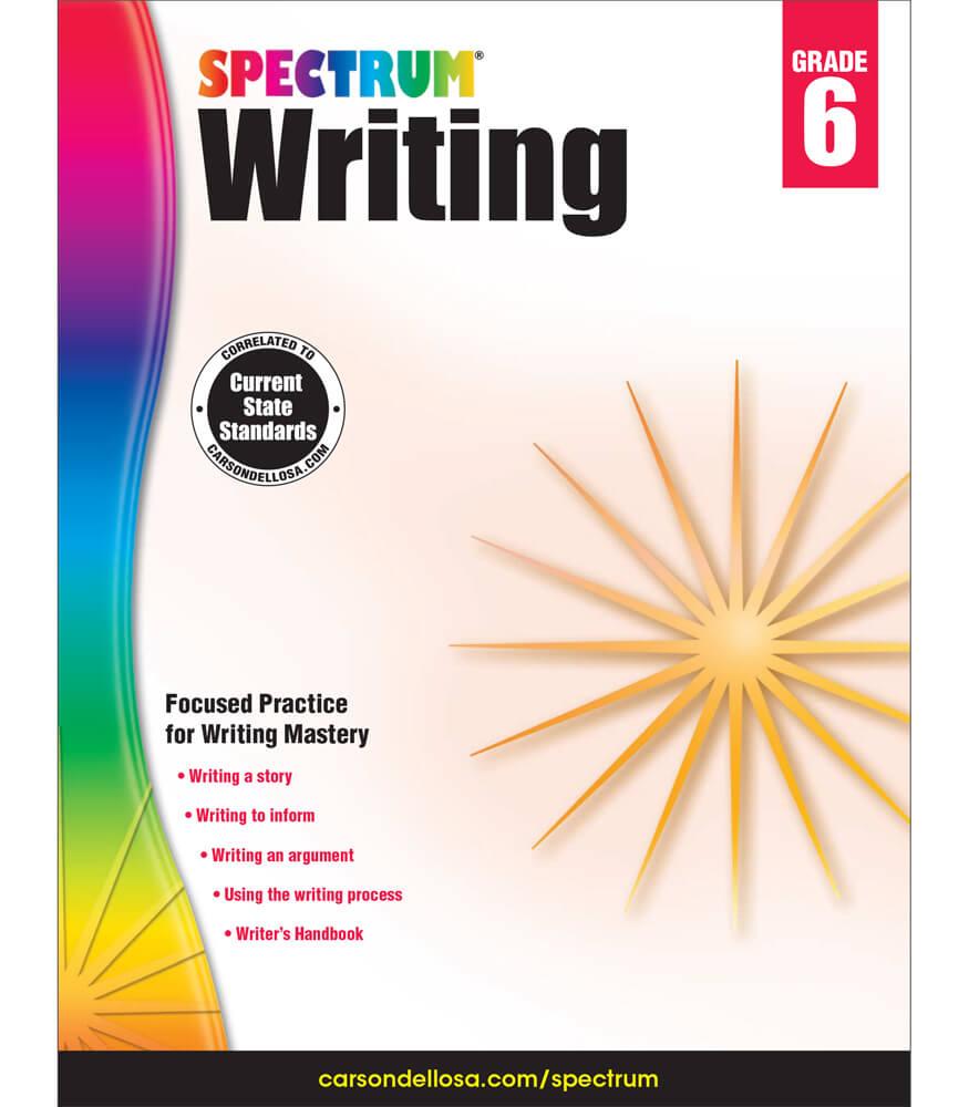 Spectrum Writing Workbook Product Image